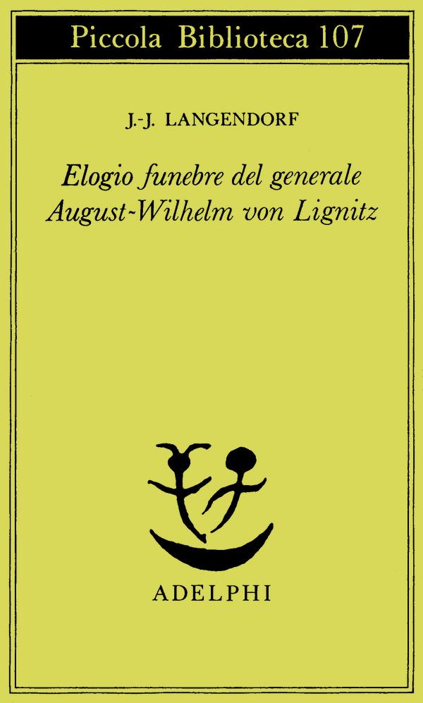 Elogio funebre del general von Lignitz
